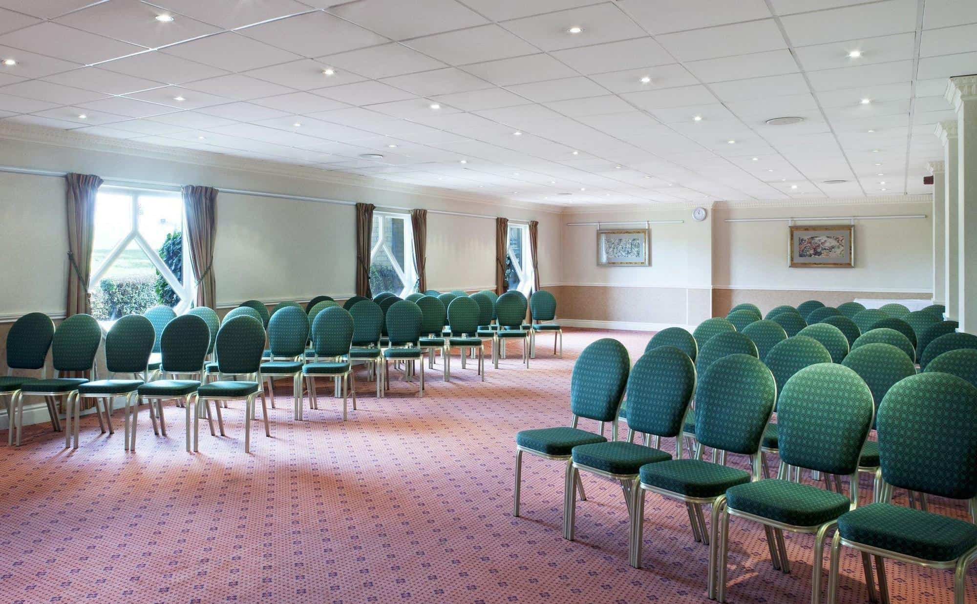 Meeting room in lecture presentation configuration at Citrus Hotel Coventry