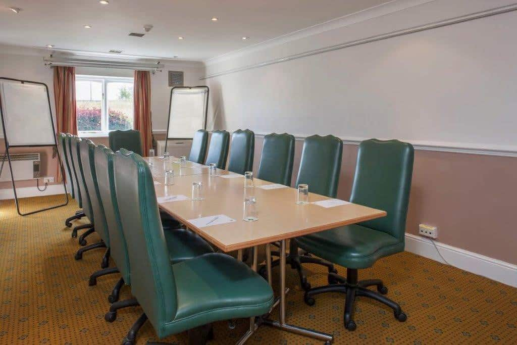 Merlin Suite boardroom at Citrus Hotel Coventry South