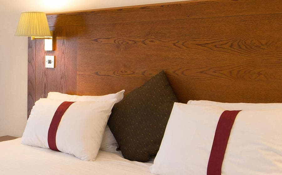 pillows on comfy standard