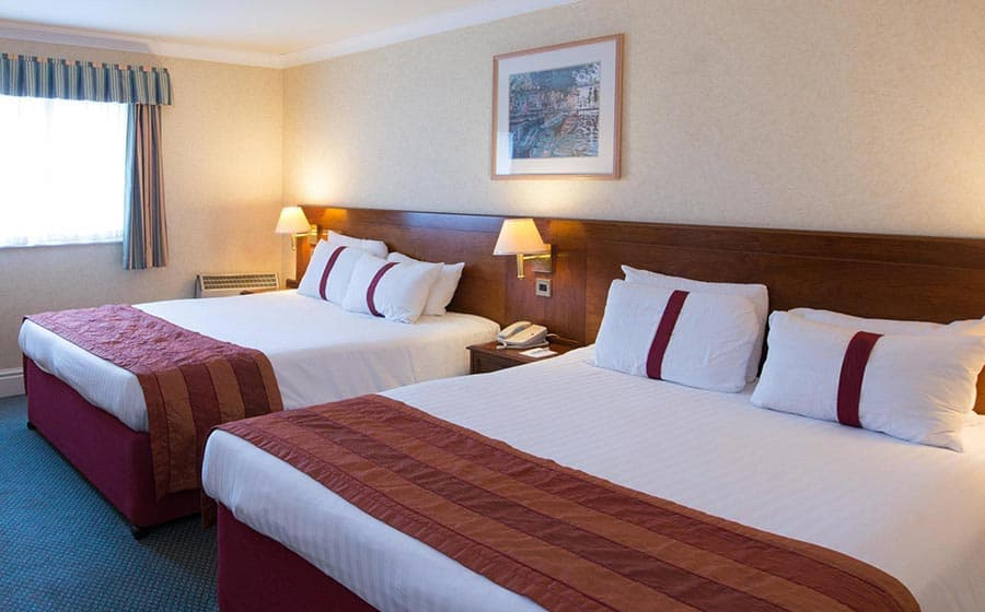 Family room bed in Citrus Hotel Coventry
