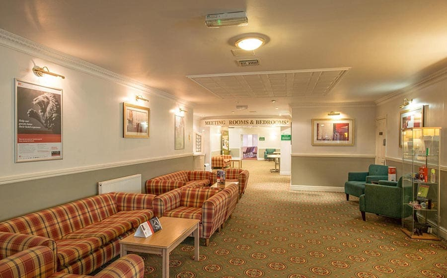 Meeting room breakaway area at Citrus Hotel Coventry