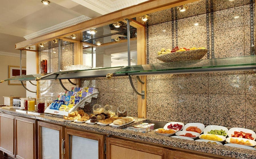 Buffet continental breakfast at Citrus Hotel Coventry